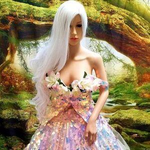 ARIELLE Mermaid Sequin Organza Wedding Ballgown